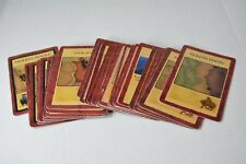 Risk Lord of the Rings Trilogy board game replacement pieces - territory cards