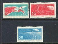 31348) DDR 1961 MNH 1st Man IN Space 3v. Scott #549/51