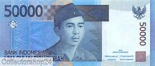 Indonesia 50000 Rupiah 2005 Unc Pn 145a