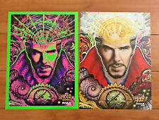 "DOCTOR STRANGE MARVEL AMC IMAX MOVIE 9x13"" POSTERS BENEDICT CUMBERBATCH SET OF 2"