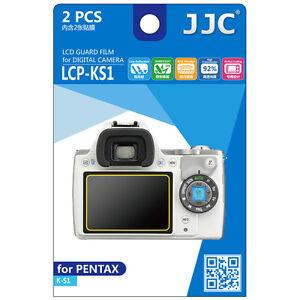 JJC LCP-KS1 LCD Film Camera Screen Display Protector for PENTAX K-S1 Guard Film