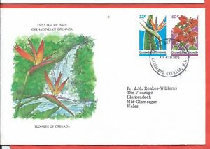 Grenada stamps. 1979 Flowers FDC (A527)
