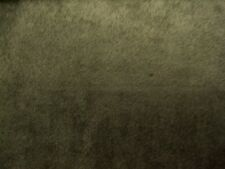 OLIVE GREEN UPHOLSTERY MICRO SUEDE FABRIC $9.99/YARD