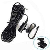 2.5mm External Microphone Bluetooth For Car Pioneer Stereos Receiver Radio X5Y4