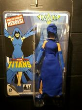 """Figures toy co.Dc The New Teen Titans Raven 8"""" action figure New"""