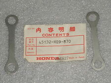 1982-1983 Honda CB750 CB900 CB1000 GL1100 CB1100F Brake Caliper Spacer Set 2 NOS
