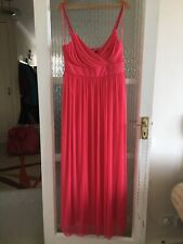 DEBUT LONG EVENING DRESS SIZE UK 16 IN EXCELLENT CONDITION