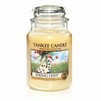 ☆☆Yankee candle☆☆ Spring Days Large Jar Candles,Fresh Scent