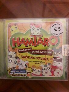 Cd Cristina D'Avena - Hamtaro Piccoli Criceti Grandi Avventure nuovo sigillato