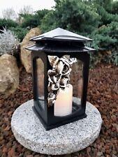 * Grablaterne /& Sockel Grablampe Lampe Grableuchte Grablicht Grabschmuck Kerze