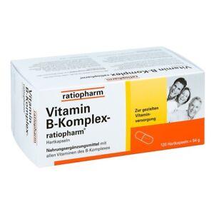 Vitamin B Komplex ratiopharm Kapseln 120 Stück PZN 13352373 plus Proben