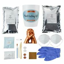 Hand Casting Kit with Masks, Gloves, Paint and Tools Included Hand Mold Kit Cast