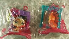 Mcdonald's 2015 Happy Meal Toy Littlest Pet Shop Toy #3, #4, Lot of 2 Nip