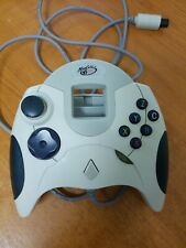 Sega Dreamcast Madcatz Dream Almohadilla Controladora Blanco probado y funcionando en muy buena condición