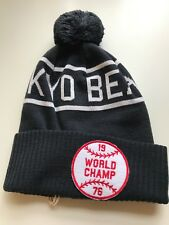 8af2330a758f4 Champion Reverse Weave X Beams Pom Beanie Navy