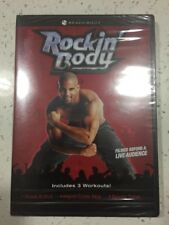 Rockin' Body Workout Shaun T. DVD Beachbody 3 Workouts w/Special Features Sealed