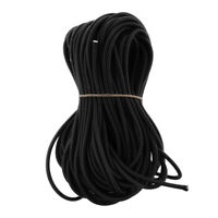 3//8″ 1000 ft Bungee Shock Cord White With Black Tracer  Marine Grade Heavy Duty