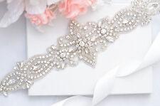 SALE crystal rhinestone Wedding Belt, Bridal Belt, Sash Belt, Crystal Rhinestone