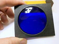 """KODAK Wratten Gelatin Lens Filter 3X3"""" square dark Blue"""