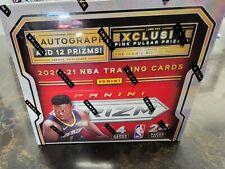 20/21 Panini Prizm NBA Basketball Retail 24 Pack Box Zion Trae Luka Curry Lebron