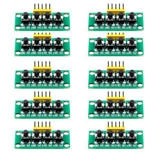 4 10pcs 5pin 1x4 4 Keys Button Keypad Keyboard Breadboard Module For Arduino Diy