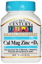 Siglo XXI la asistencia sanitaria, Cal Mag Zinc + D3, x90tabs