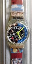 "SWATCH WATCH GZ126  ""THE PEOPLE"" 1992, New in box/mint condition"