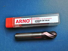 Arno 1 x Vhm-Radiusfräser 12 Mm short 4 Z New