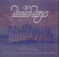 BEACH BOYS good timin: live at knebworth england 1980 CD NEU OVP