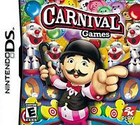 Carnival Games (Nintendo DS) Lite DSi xl 2ds 3ds xl