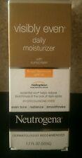 Neutrogena® Visibly Even® Daily Moisturizer,SPF 30,1.7 oz **READ**