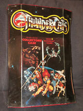 Vintage Thundercats 1986 LJN Collector's Case Holds 8 Action Figures Rare