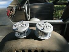 Two miller Air Cleaners Flathead Ford Mercury V8 Hot Rod Stromberg