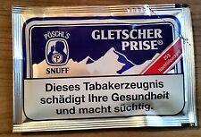 10 x 25g. Gletscher Prise Snuff, Schnupftabak von Pöschl