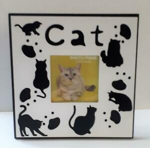 Collectable Black cats picture frame. New, boxed