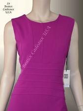 IVANKA TRUMP Women Dress PETUNIA Size 16 Sleeveless CREPE Knee Dressy LBCUSA