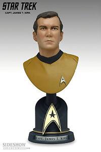 Star Trek Kirk Resin-Bust 18cm Ltd 5000 Sideshow
