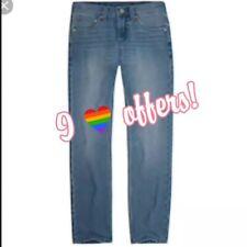 NWT $44 Levi's Boys 511 Slim Size 14 Light Wash Blue Denim Jeans