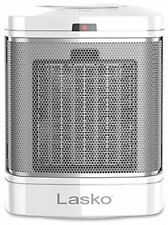Lasko Ceramic Bathroom Heater in White Automatic Overheat Protection 3 Settings