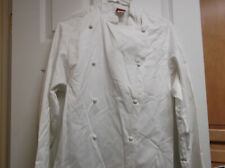 Nwt Dickies Unisex Knot Button Chef Coat White
