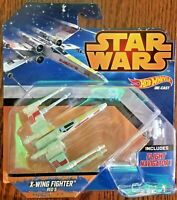 Disney Hot Wheels Highhly Collectible Star Wars Starships X-Wing Fighter Red 5