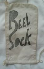 Vintage Fishing Reel Sock Bag for 1 or More Reels Heavy Strong Canvas Hs