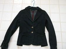veste femme coton MANGO bleu marine taille 36