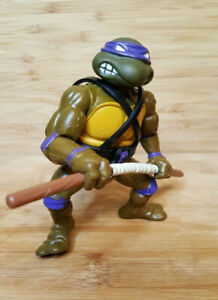 1988 TMNT Teenage Mutant Ninja Turtles Don Donatello with Weapons action figure