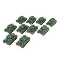 10 Pieces Military Vehicles Model Cars Heavy Tank Panzer Kids Pocket Toy