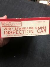 Scale Structures Limited FORD Inspection Car #K129B Standard Gauge HO Scale