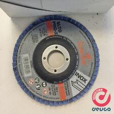 Dischi abrasivi lamellari INOX 13000 rpm D.115mm grana 40 10pz D 9689 2040 LUKAS