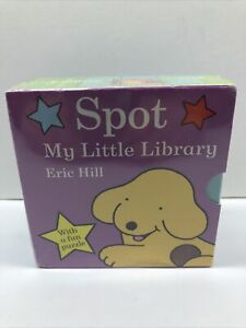 Spot My little Library Books Hard Cover Books Box Set by Eric Hill With Puzzle