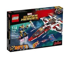 Captain America Marvel Super Heroes Multi-Coloured LEGO Building Toys