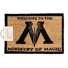 HARRY POTTER 'MINISTY OF MAGIC' COIR DOOR MAT - OFFICIAL LICENSED **NEW**